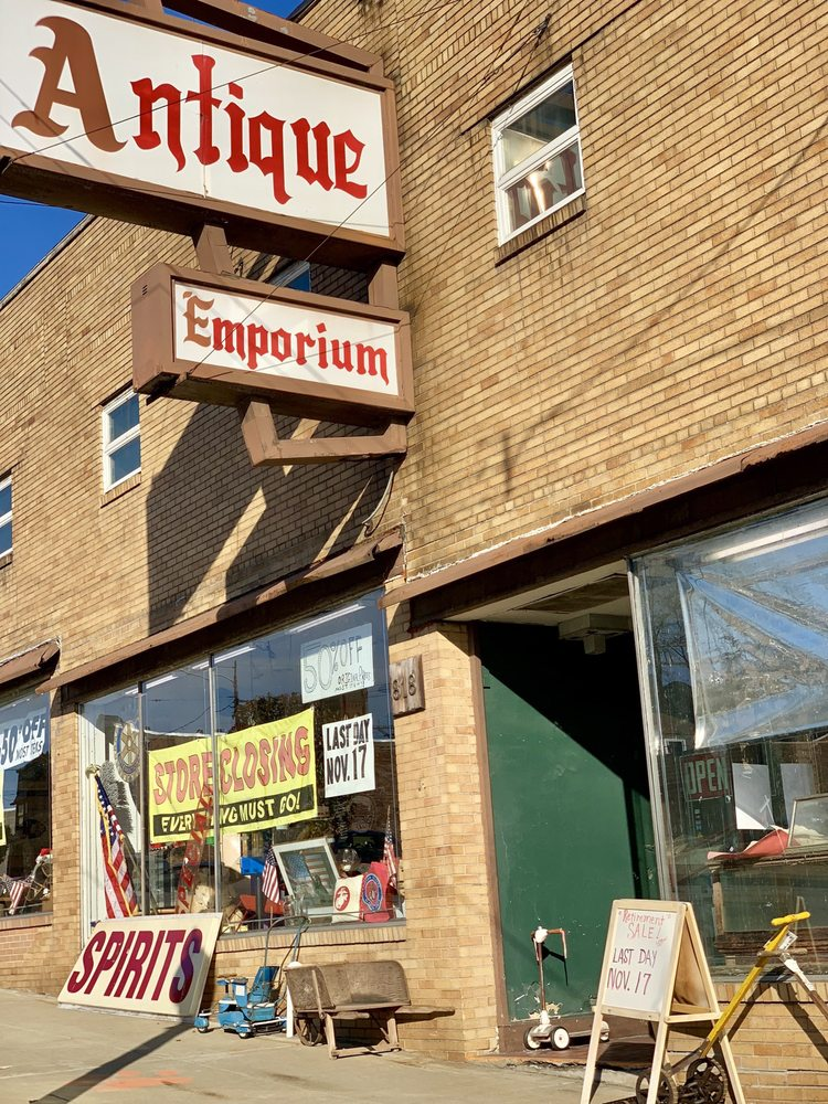 The Antique Emporium: 818 7th Ave, Beaver Falls, PA