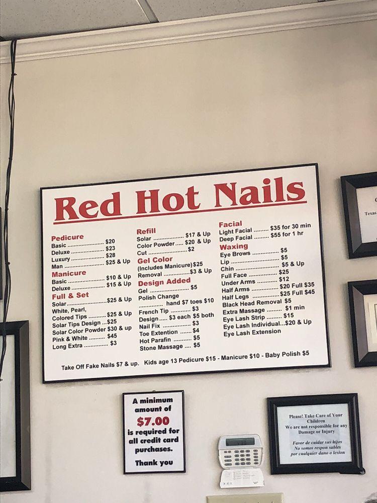 Red Hot Nails - 20 Photos & 35 Reviews - Nail Salons - 250