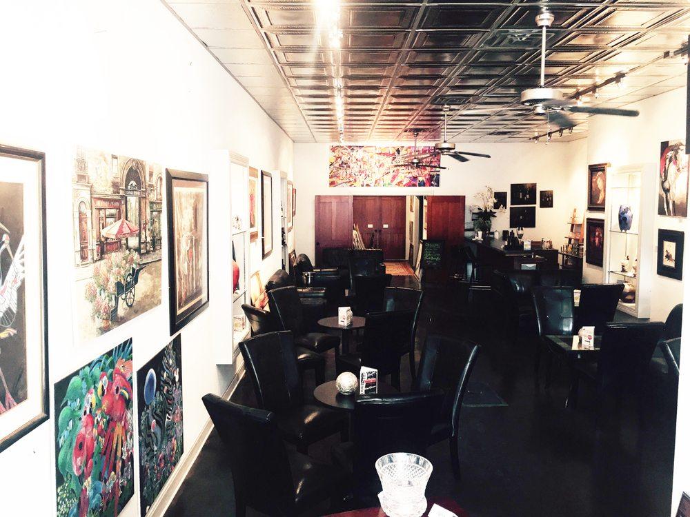 The Black Swan Art Gallery and Wine Bar: 118 S Chadbourne St, San Angelo, TX