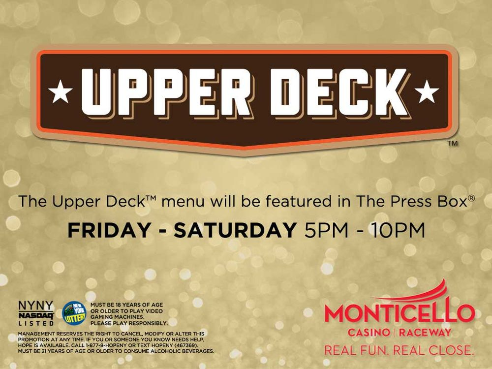 The Upper Deck - CLOSED - Sports Bars - 204 State Rt 17B, Monticello