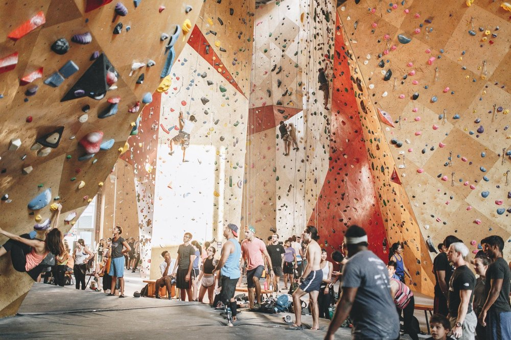 Brooklyn Boulders: 100 S Morgan St, Chicago, IL