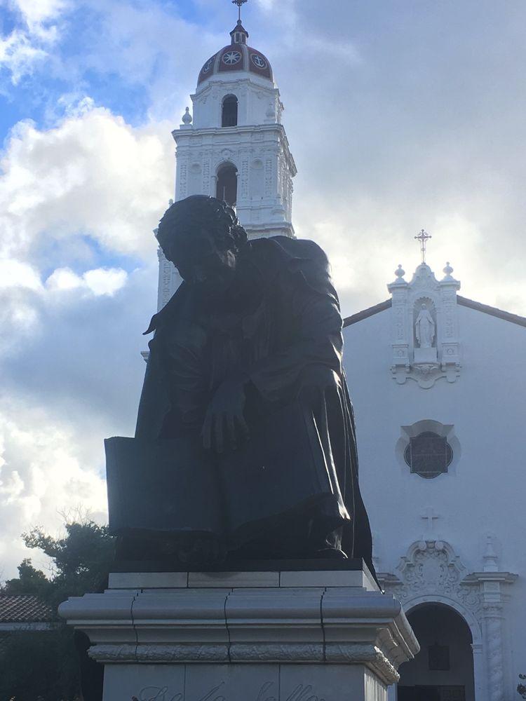Statue Of Saint John Baptist De La Salle The 17th Century