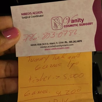 High Quality Photo Of Vanity Cosmetic Surgery   Miami, FL, United States. My Quote Was