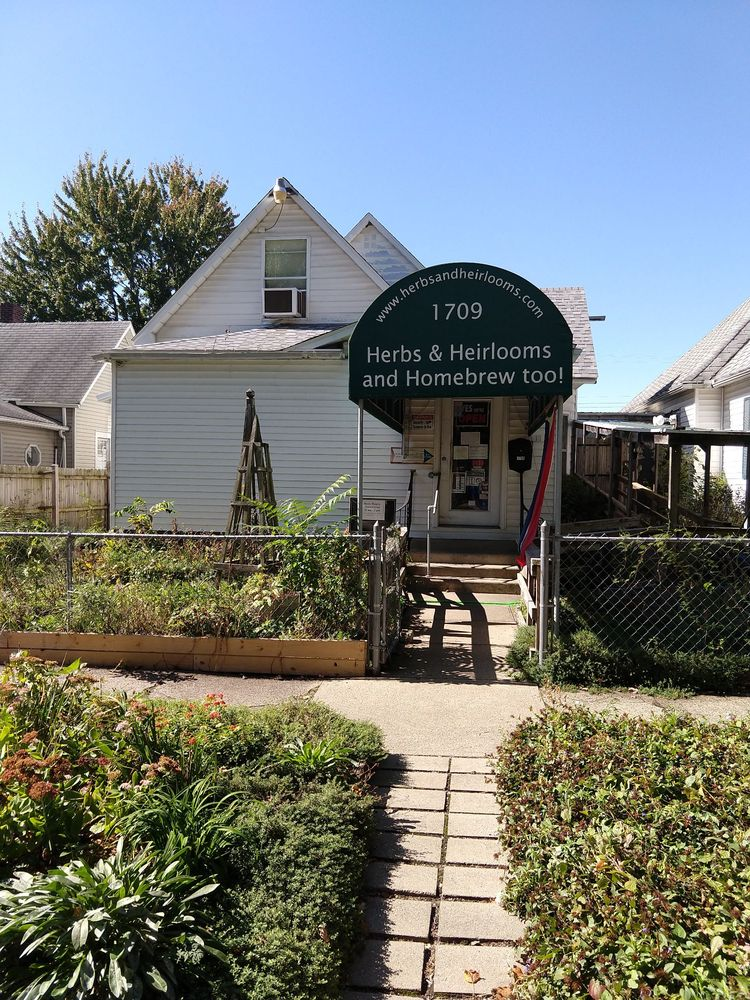 Herbs & Heirlooms & Homebrew Too: 1709 S 4th St, Terre Haute, IN