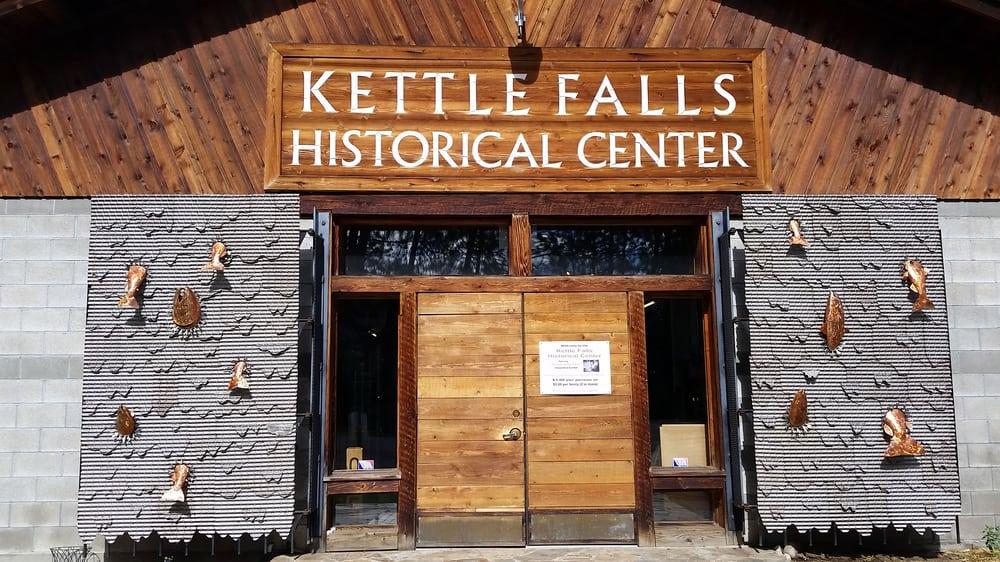 Kettle Falls Historical Center: 1188 St Paul Mission Rd, Kettle Falls, WA