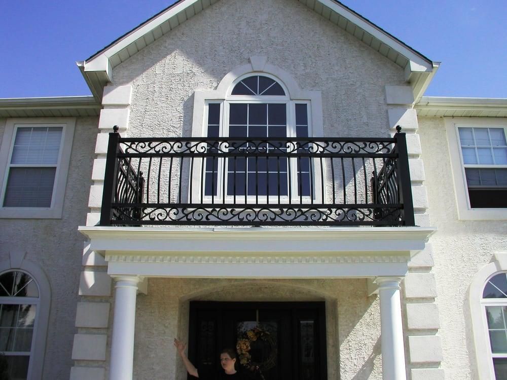 Custom exterior portico railing in columbus new jersey yelp - Home decor nj decor ...