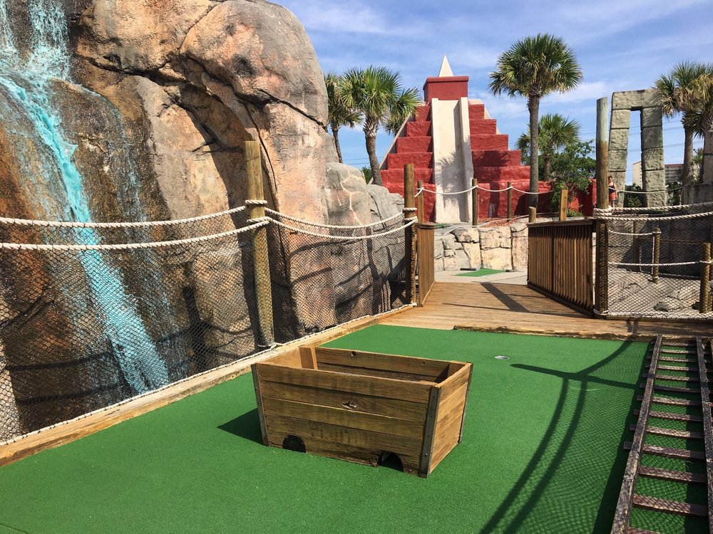Professor Hacker's Lost Treasure Golf: 1705 Highway 17 S, North Myrtle Beach, SC