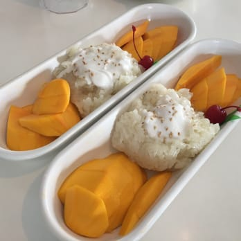 Photo Of Thai Patio   Los Angeles, CA, United States. Sticky Mango Rice