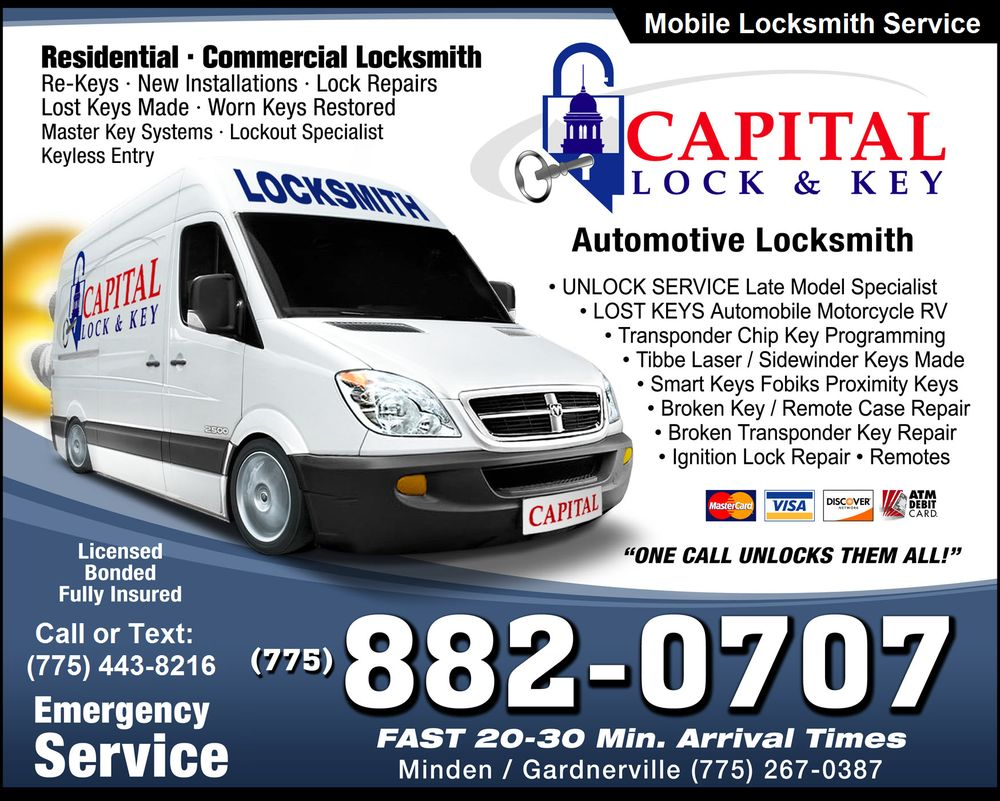 Capital Lock & Key