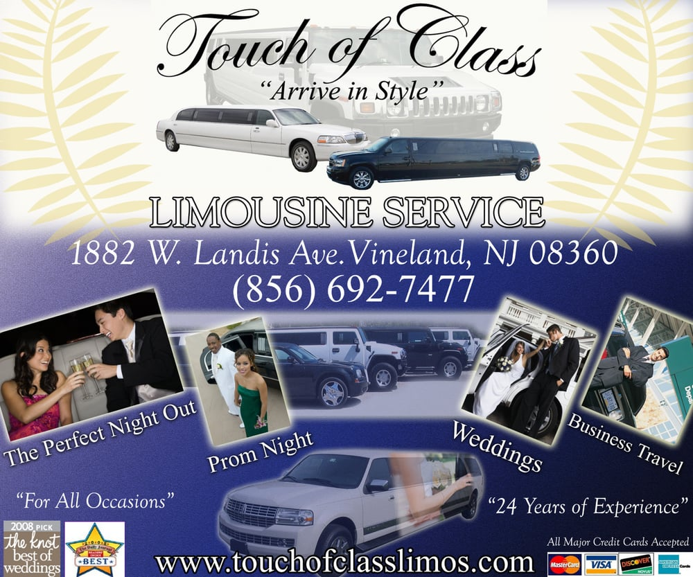 Touch of class limo airport shuttles 881 s main rd vineland touch of class limo airport shuttles 881 s main rd vineland nj phone number yelp magicingreecefo Gallery