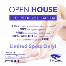 spa zone kosmetikstudio hautpflege 205467 county road 109 orangeville on kanada. Black Bedroom Furniture Sets. Home Design Ideas
