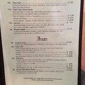Royal Thai Restaurant Menu Punta Gorda Fl