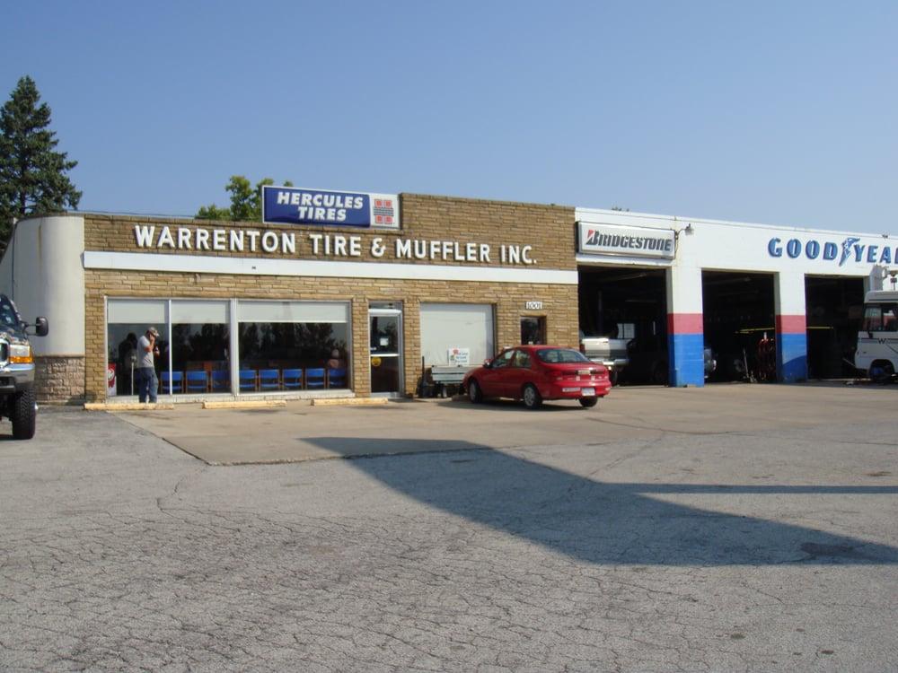 Warrenton Tire & Muffler: 1001 E Veterans Memorial Pkwy, Warrenton, MO