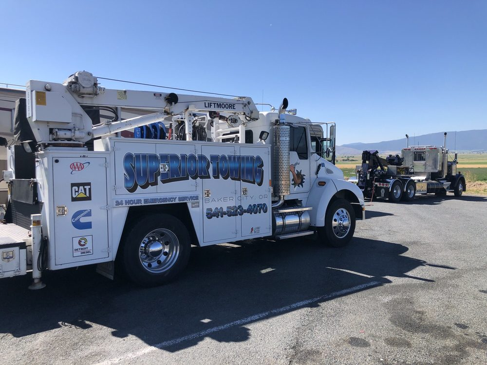 Superior Towing: 2320 Balm St, Baker City, OR