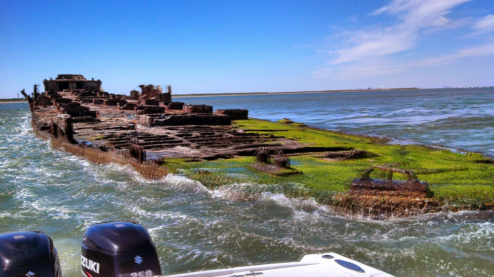 Fishing the ship wreck what a awesome picture yelp for Get hooked fishing charters