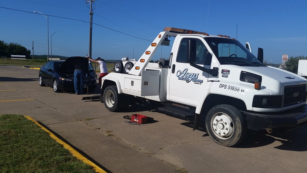 Acey's Wrecker Service: 1011 N 1st St, McAlester, OK