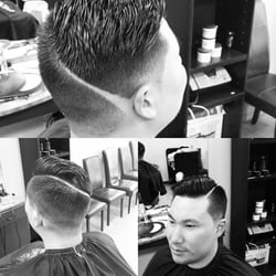 Photo Of Crossroads Barber Shop   Bellevue, WA, United States. Haircut By  Marco