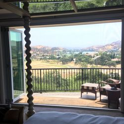 photo of clearview retractable screens by southern california screen simi valley ca united