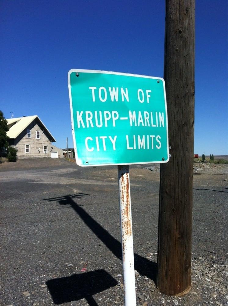 Town of Krupp: 299 N Urquhart Ave, Krupp, WA