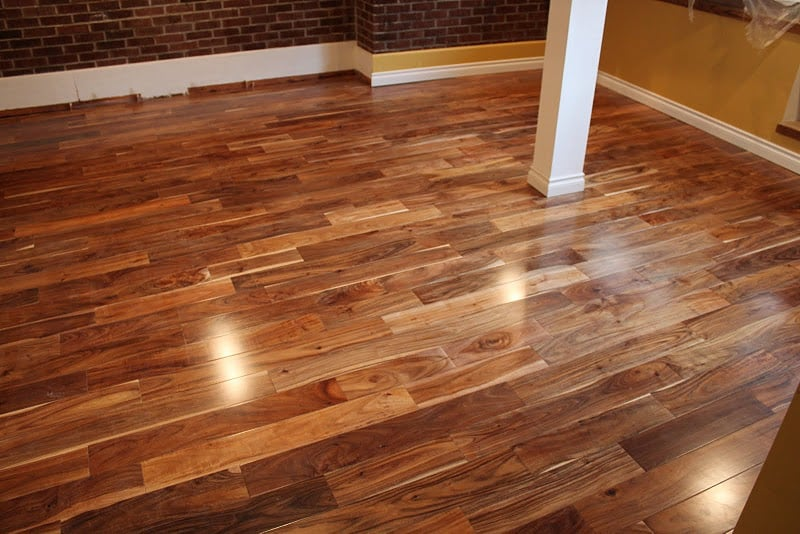 Natural Acacia Flooring From Simplefloors Installed