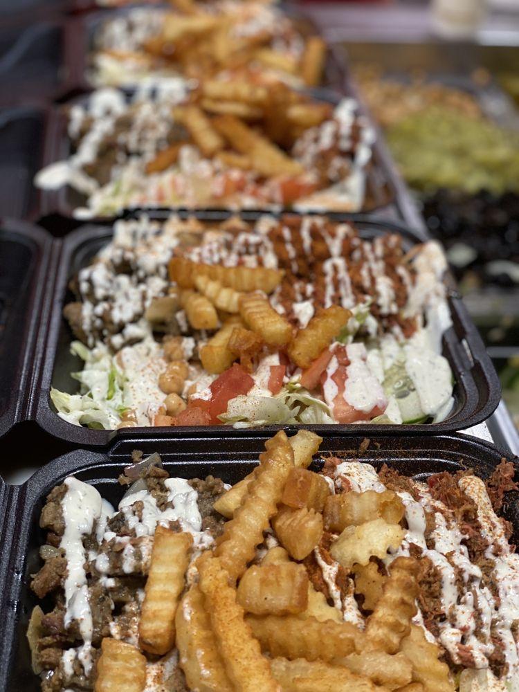 Food from NYC Halal Eats
