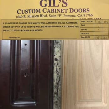 Photo Of Gil S Custom Cabinet Doors Pomona Ca United States A Warning