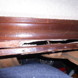 Photo Of The Furniture Doctor   Portland, OR, United States. Cracked  Railing On