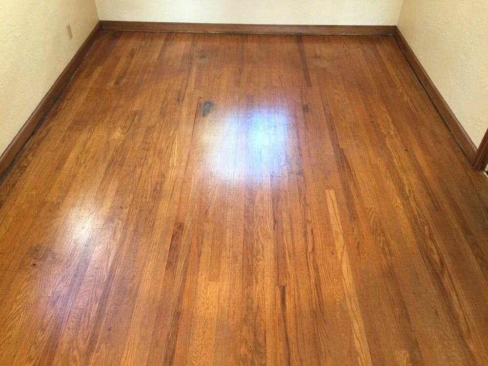 Top nailed red oak hardwood before picture yelp for Hardwood floors unlimited
