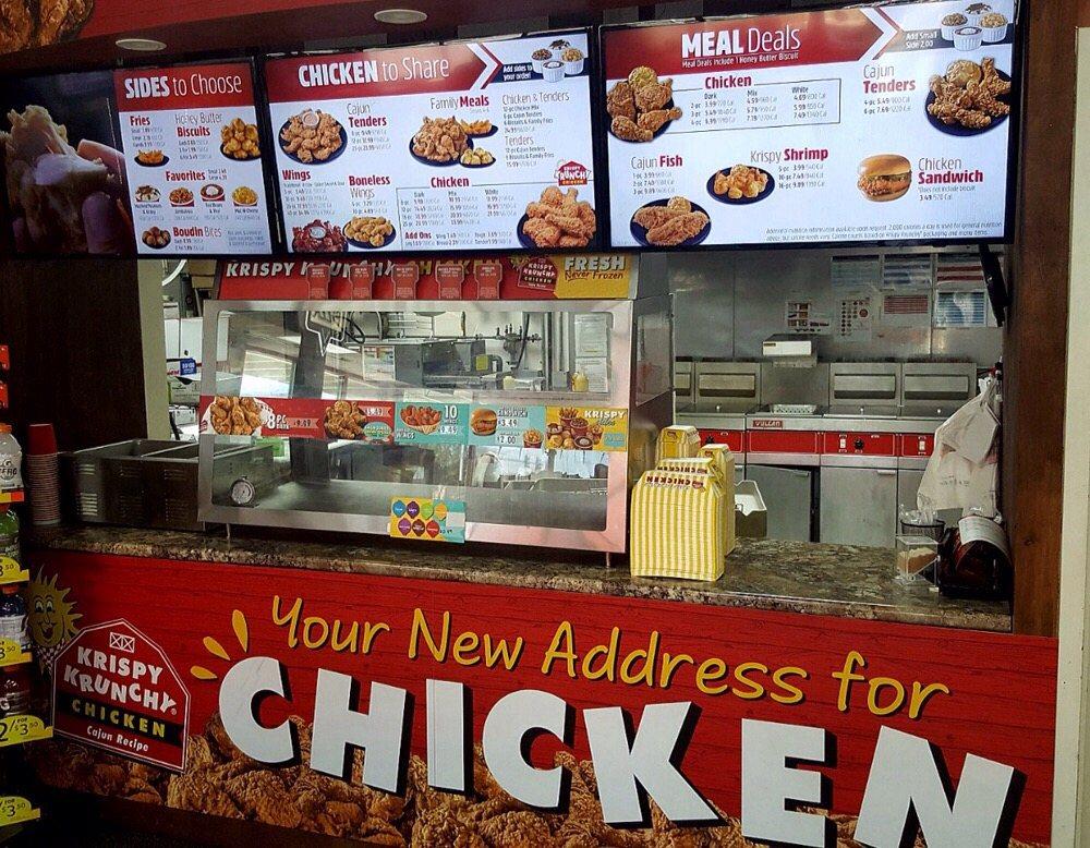 Krispy Krunchy Chicken: 6912 S 110th St, La Vista, NE