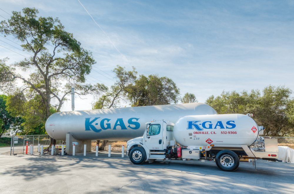 K-Gas Propane: 2770 Feather River Blvd, Oroville, CA