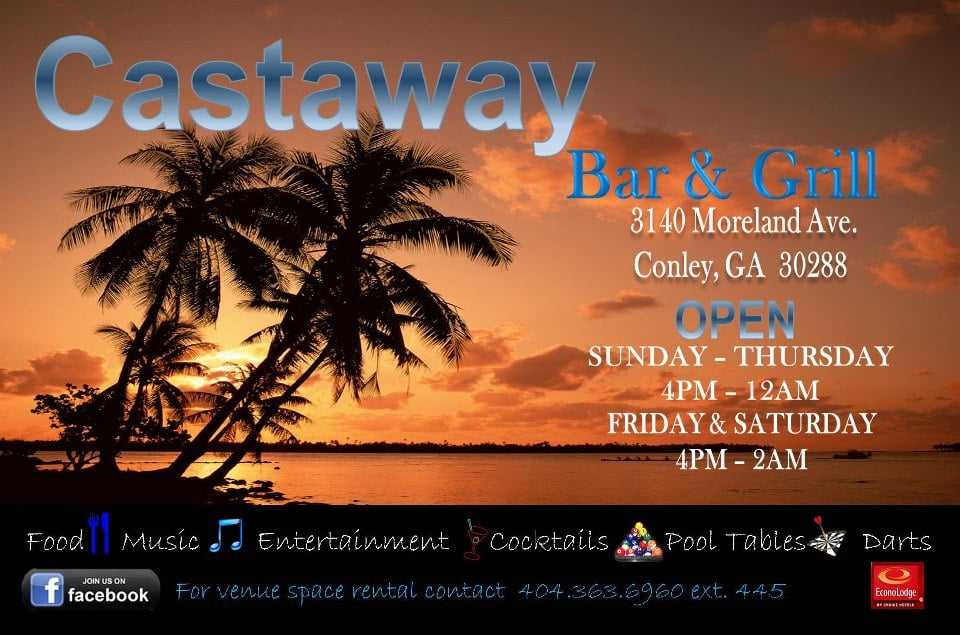 Castaway Bar & Grill: 3140 Moreland Ave, Conley, GA