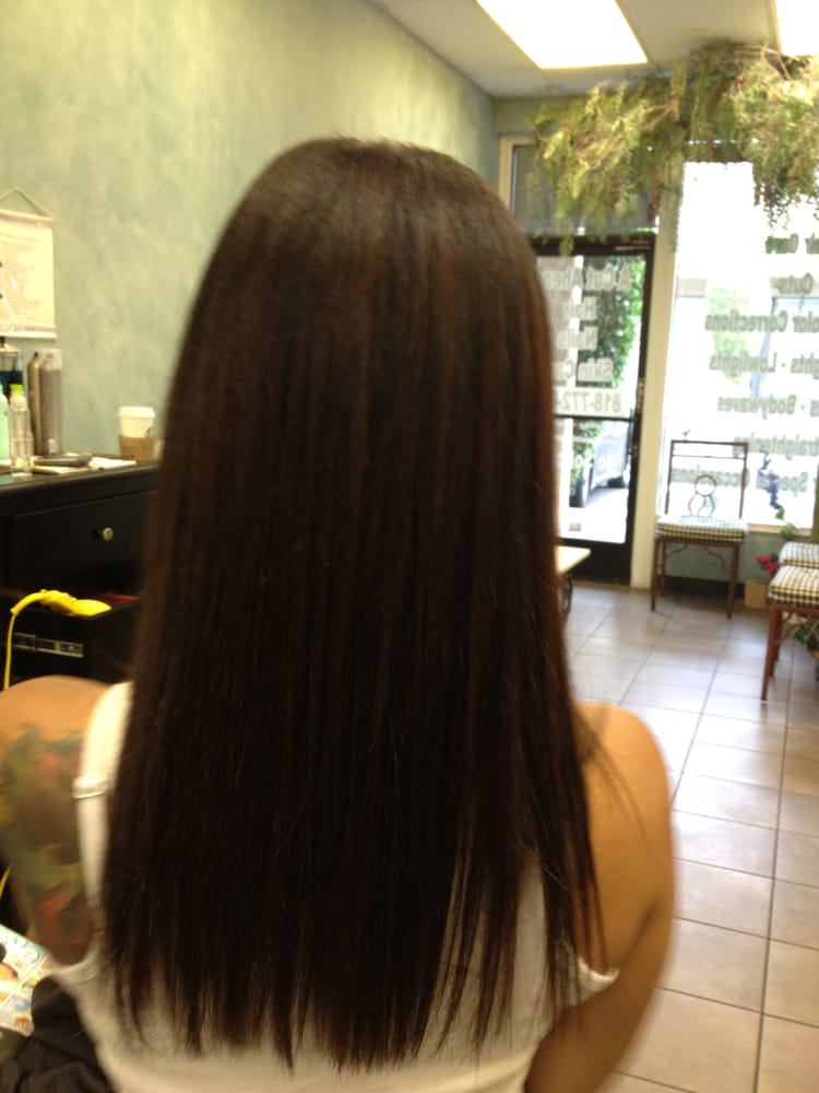 ...This is the after photo of a Brazilian BlowOut on ...