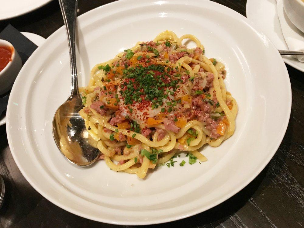 Photo of Mama Lion - Los Angeles, CA, United States. IG: @juliajverie fresh bucatini pasta