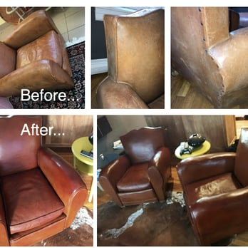 Photo Of Hub Leather Repair Framingham Ma United States Before And After