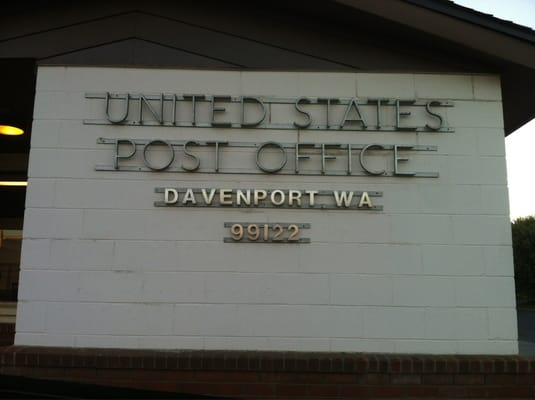 U s government post offices 402 7th st davenport wa - United states post office phone number ...