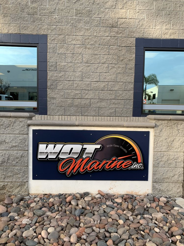 WOT Marine Boat Service & Repair: 1241 Distribution Way, Vista, CA