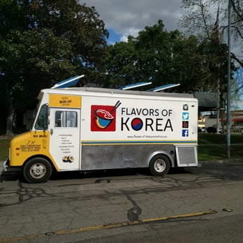 Flavors Of Korea Food Truck Stockton Ca