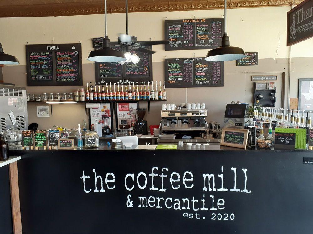The Coffee Mill & Mercantile: 136 Main St, Quitaque, TX