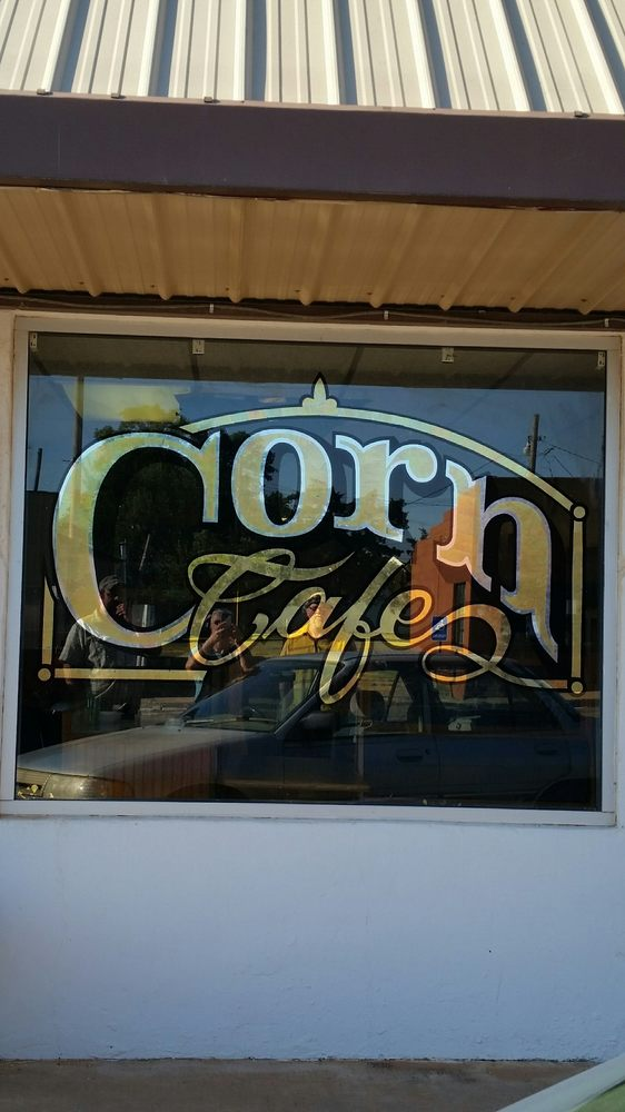 Corn Cafe: 207 W Main St, Corn, OK