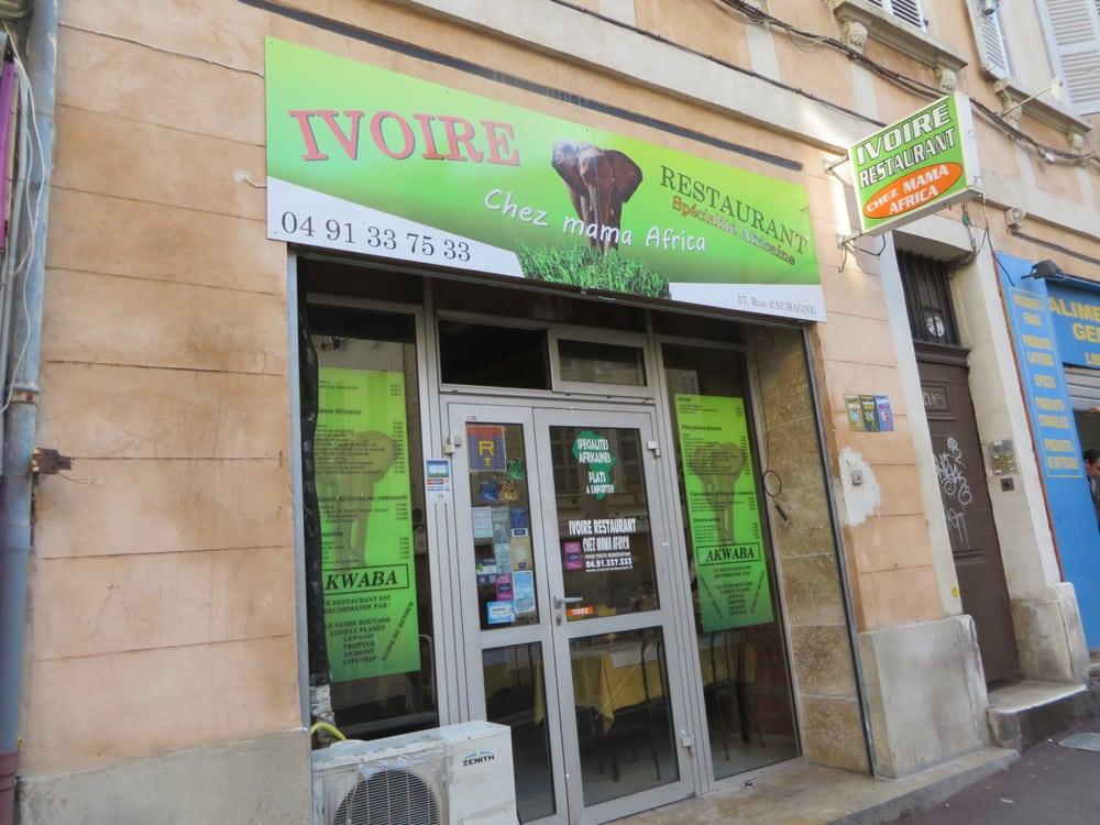 Restaurant Mama Africa Marseille