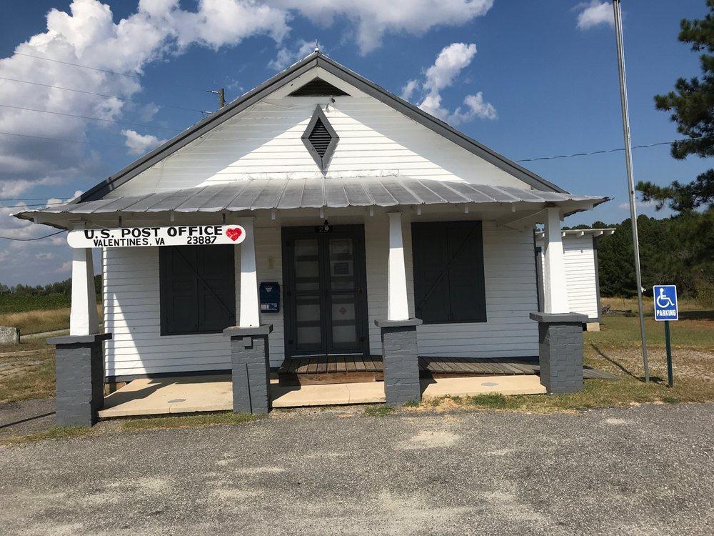 Valentines Virginia Post Office: 23 Manning Dr, Valentines, VA