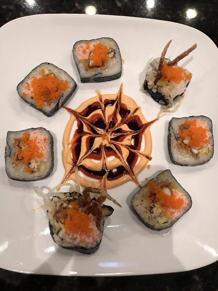 Food from Mizu Sushi
