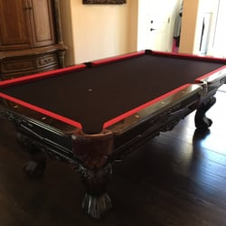 Best Pool Table Refelting Service Near Me September Find - Pool table refelting near me