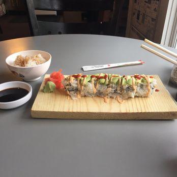 Suns Cafe Sushi Menu