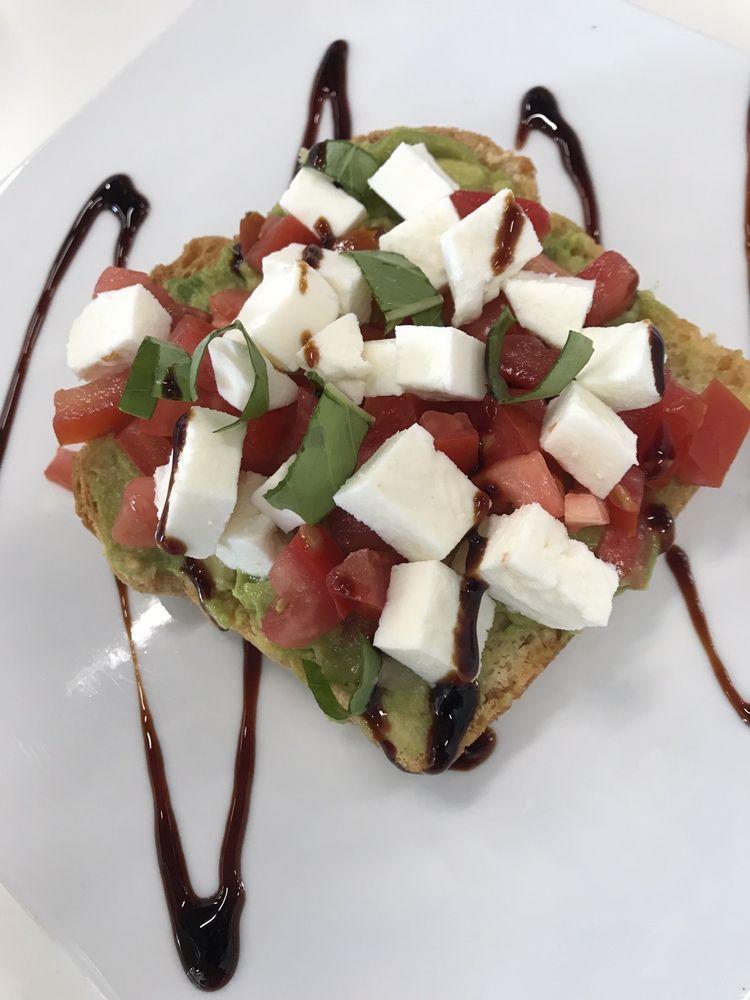 Food from La Luna Cafe