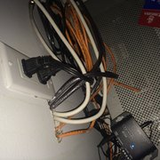 Wiring Behind Mounted Tv Photo Of Mentors Construction   Yonkers, NY,  United States. No So Hidden Wiring