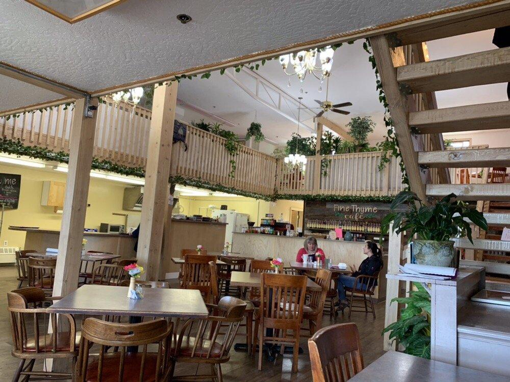 Fine Thyme Cafe: 44619 Sterling Hwy, Soldotna, AK