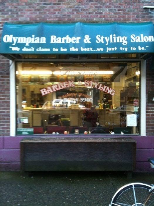 Hotel Olympian Barber & Styling Shop | 521 Washington St SE, Olympia, WA, 98501 | +1 (360) 754-3940
