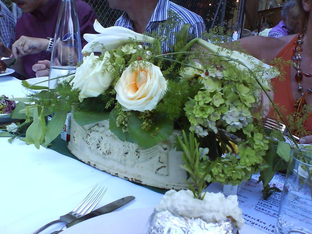 Tischdeko Bei Stangls Sommerfest Yelp