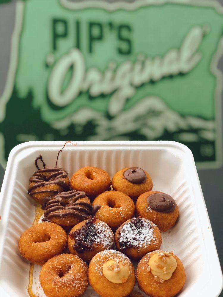 Food from Pip's Original Doughnuts & Chai